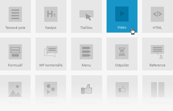 MioWeb – vizuální editor pro WordPress se širokou nabídkou typů obsahu