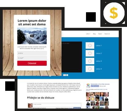 Vložení prodejní kampaně na webové stránky MioWeb