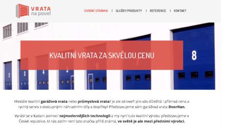 Firemní webové stránky